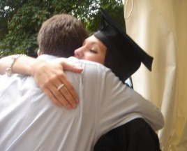 Kate And Nick and her Graduation
