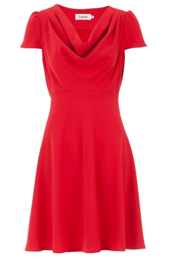 Louche Paloma Cowl Neck Dress
