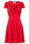 Louche Paloma Cowl Neck Dress