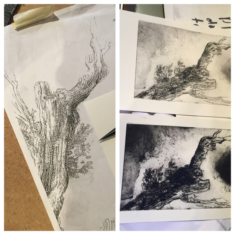 Rembrant Etching Class